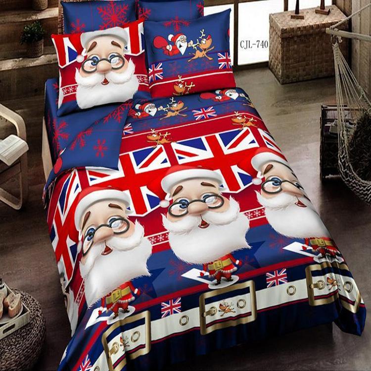 achetez en gros parure de lit no l en ligne des grossistes parure de lit no l chinois. Black Bedroom Furniture Sets. Home Design Ideas