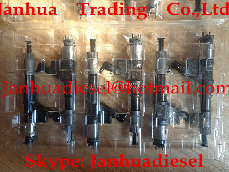 DENSO common rail injector 095000-6701,095000-6700 for SINOTRUK HOWO VG61540080017A(China (Mainland))