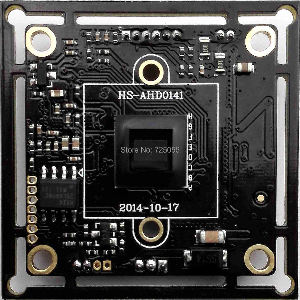 "AHD 1000TVL1Megapixel board camera module cctv camera PCB,M12 IR cut&OSD cable,1/4"" AR0141 CMOS + NVP2341H, 0.01lux, 38*38mm(China (Mainland))"