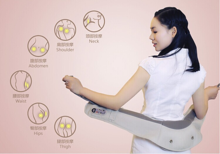 Upgraded version of the shawl shoulder massage Neck massager cervical massage therapy equipment, the best Christmas gift(China (Mainland))