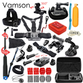 Gopro Accessories set gopro accessories mounts gopro hero 5 hero 4 hero3 kit for Xiaomi yi
