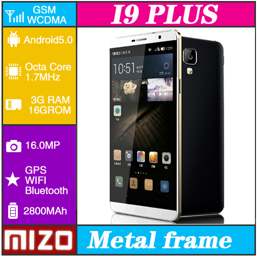 MIZO I9 Plus cell phones Octa Core MTK6592 telephone mobile phones 5.5 Inch 16.0MP smart phone celular Android cellulare mobile(China (Mainland))
