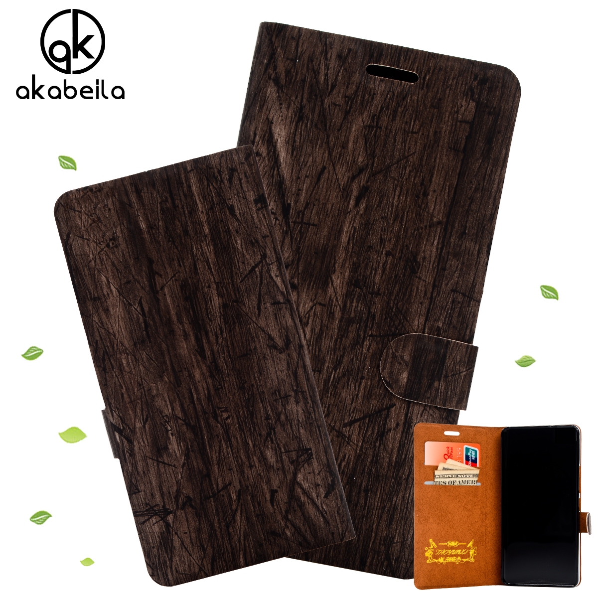 New Fashion Flip Wallet Style Cell Phone Case for Samsung Galaxy Note Edge N9150 PU Leather Slim Wood Grain Back Cover Brand New(China (Mainland))