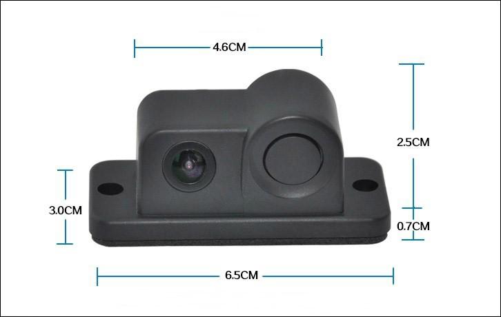 park sensörü ile araç kamera boyutu