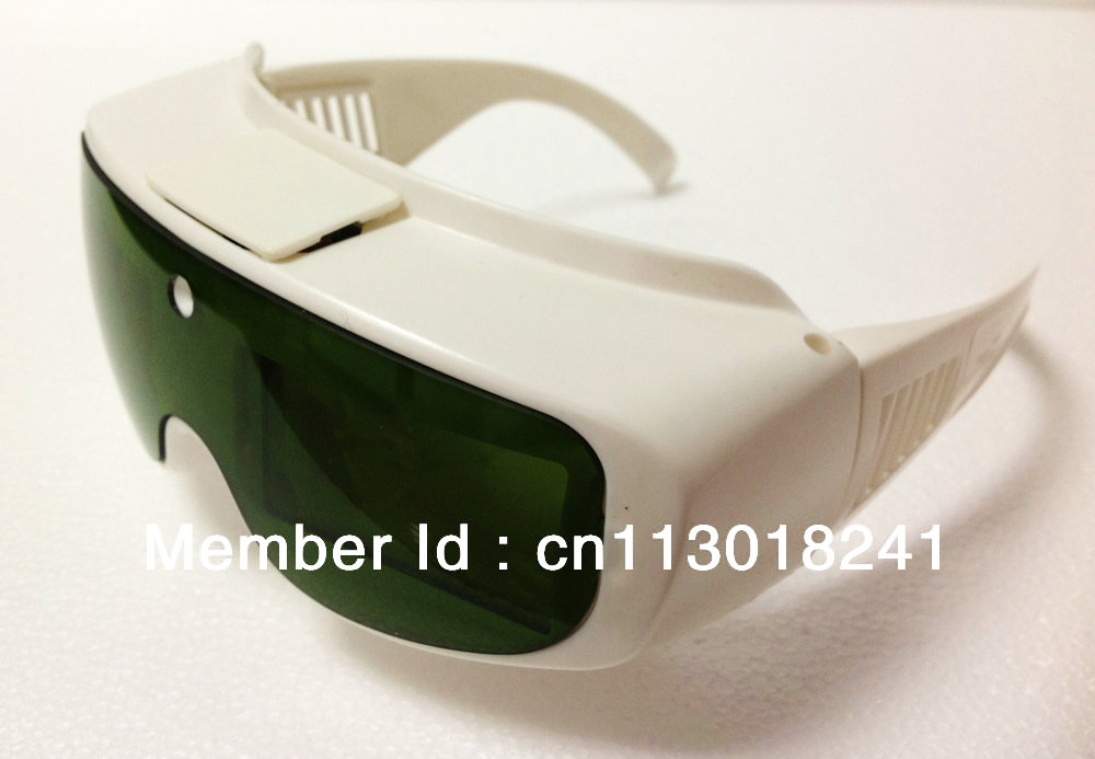 CE IPL safety goggles protection glasses speed shutter cut intense light & proof UV/IR light automatically(China (Mainland))