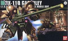 Bandai HGUC 58 RX-110 Gabthley Gundam model Kits Assembled model scale model