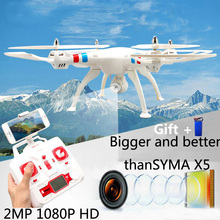 SYMA X8W professional drones WIFI FPV RC quadcopter with camera 2.4G 4CH FPV drone with camera HD 2MP flying camera helicopter