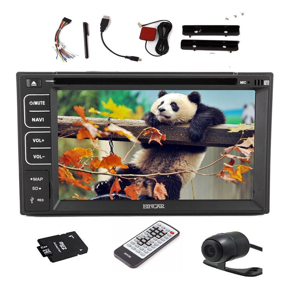 NEW Windows 8 In dash Double 2 DIN GPS Navigation Car Stereo Radio Bluetooth HD DVD CD MP3 Player Audio Video iPod+Free Camera(China (Mainland))