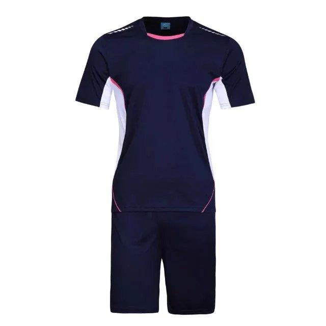 2016 17 Men Sport Goalie Uniforms Blue Maillot Printed Pattern Training Throwback Football Jerseys(China (Mainland))