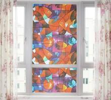 Бесплатная доставка утолщение и цвет матового стекла пленка для ванной туалет и офиса ( ширина 90 см ) 9545