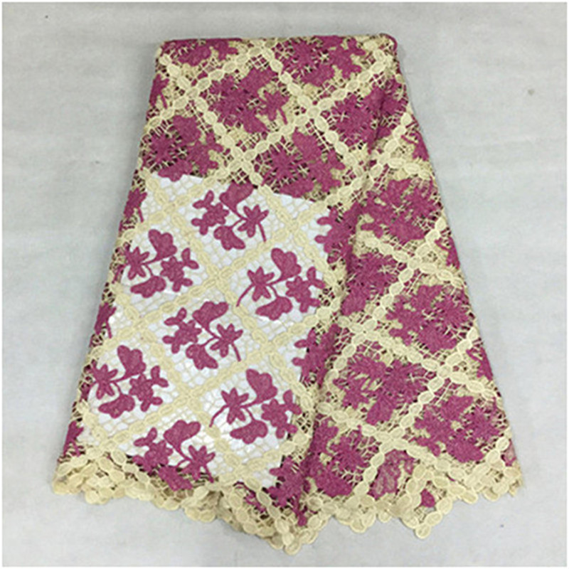 16L-W669! free shipping african swiss voile lace high quality!! african guipure cord lace for 5 yards for party