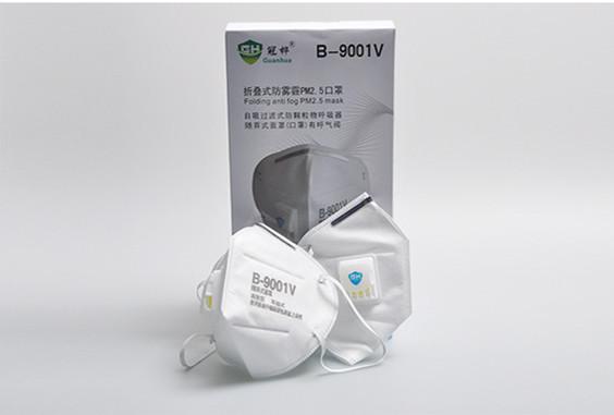 New anti-flu 9001V nose chemical respirator nonwoven medical face mask ,Valve Anti-dust/fog/haze/exhaust-PM2.5 Masks, 2pcs(China (Mainland))