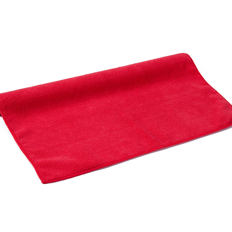 11.8X11.8inch 12Pcs/pack 300GSM Red Shipping free Direct Manufacturer Microfiber Towel Car Cleaning cloth Wash Clean Cloth(China (Mainland))