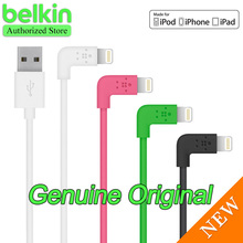 New Arrival! Belkin Original MFi Certified 8-pin 90 degree Lightning Cable (charge+sync,1.2m) for iPhone6 Free Shipping