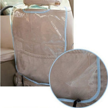 Delicate Promotion 3 Colors Car Auto Care Seat Back Protector Cover For Children Kick Mat Mud