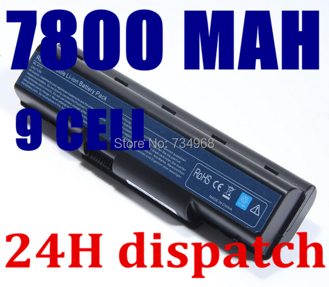 7800mah 9cell laptop battery For Acer Aspire 4736G 4730 4310 AS07A31 AS07A32 AS07A41 AS07A42 AS07A51 AS07A52 AS07A71(China (Mainland))