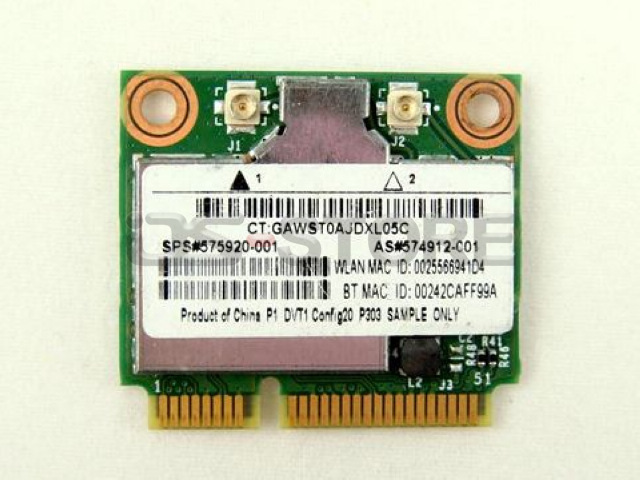 BCM94312HMG BCM4312 495827 504593 001 002 003 004 Half Mini PCI Express Wifi Wireless Card for H*(China (Mainland))