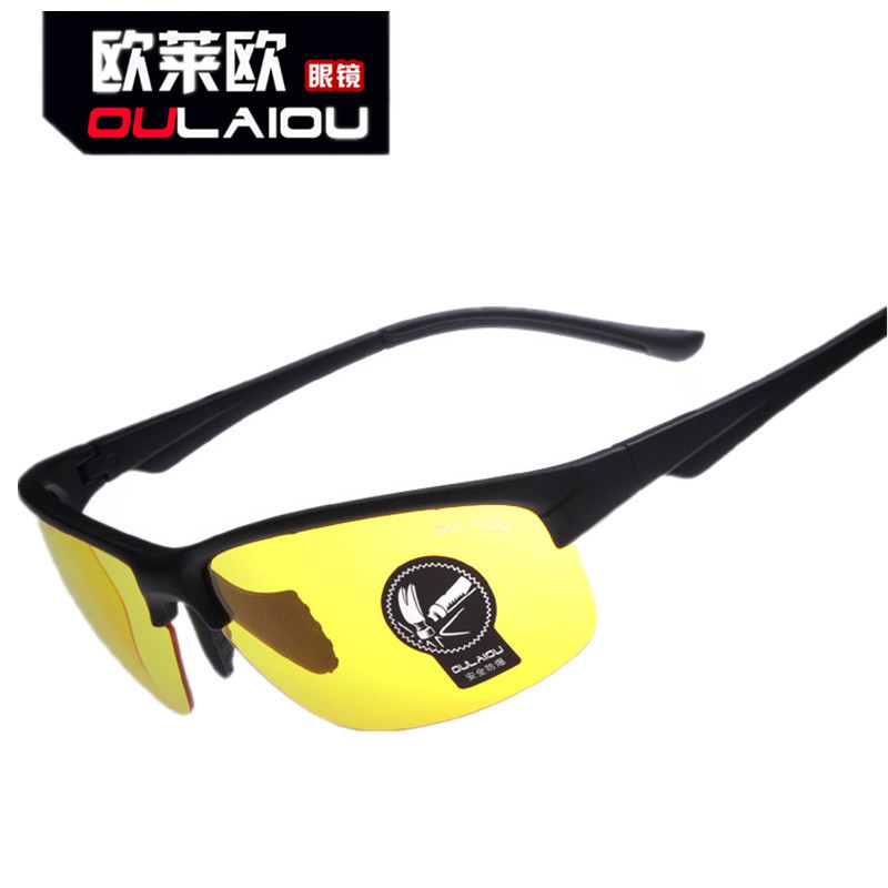 OULAIOU UV400 Unisex Cycling Glasses Outdoor Sports Windproof Eyewear Night Vision Motorcycle riding Glasses Sunglasses Goggle<br><br>Aliexpress