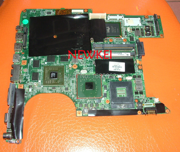 For HP DV9000 DV9500 DV9700 945PM laptop motherboard 434660-001,GF-GO7600-H-N-B1 DA0AT7MB8F0 REV:F 100% Tested !!! !(China (Mainland))