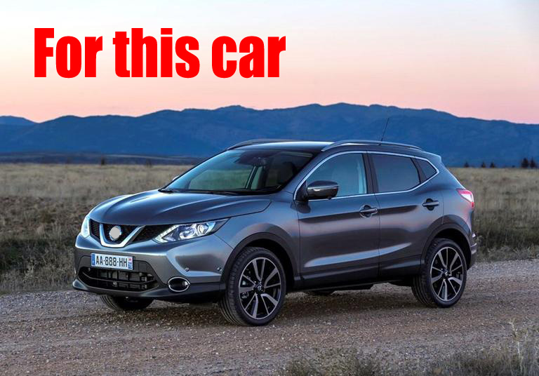 For Nissan Qashqai 2014 2015 2016 Stainless Steel Interior Inner Door Sill Protectors