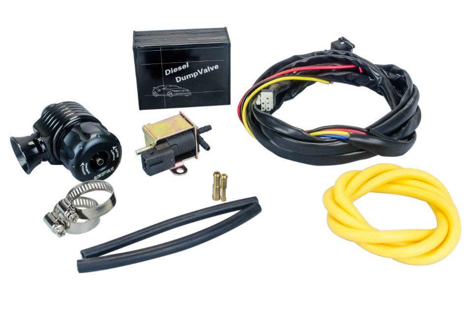 VR RACING-New ElectrIcal Diesel Blow Off Valve With Horn Outside /Diesel Dump Valve/Diesel BOV with Horn VR5012