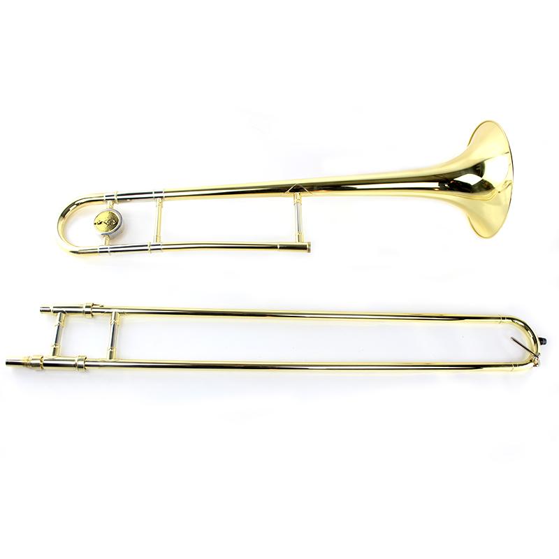 Manufacturers wholesale drop B adjustable alto trombone golden brown(China (Mainland))