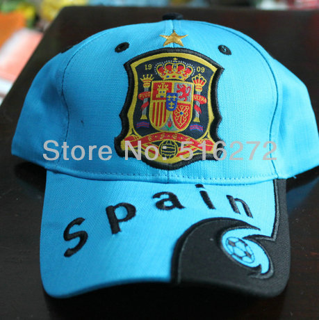 2014 cool man Spain Flag spring outside Baseball Cap universal seasons Espana Love hat 14color 1pcs(China (Mainland))