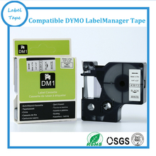 """Buy 1/4"""" X 23' DYMO 43613 black white DYMO D1 label tape 6mm*7m Compatible DYMO label maker for $14.50 in AliExpress store"""