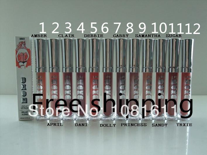 2PCS/LOT New Fashion BUXOM full-on lip polish brillant 4.45ml Make up lipgloss Free shipping(China (Mainland))