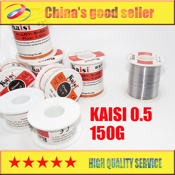 Kaisi soldering iron solder wire of low temperature high purity tin tin article 0.5 150g free shipping(China (Mainland))