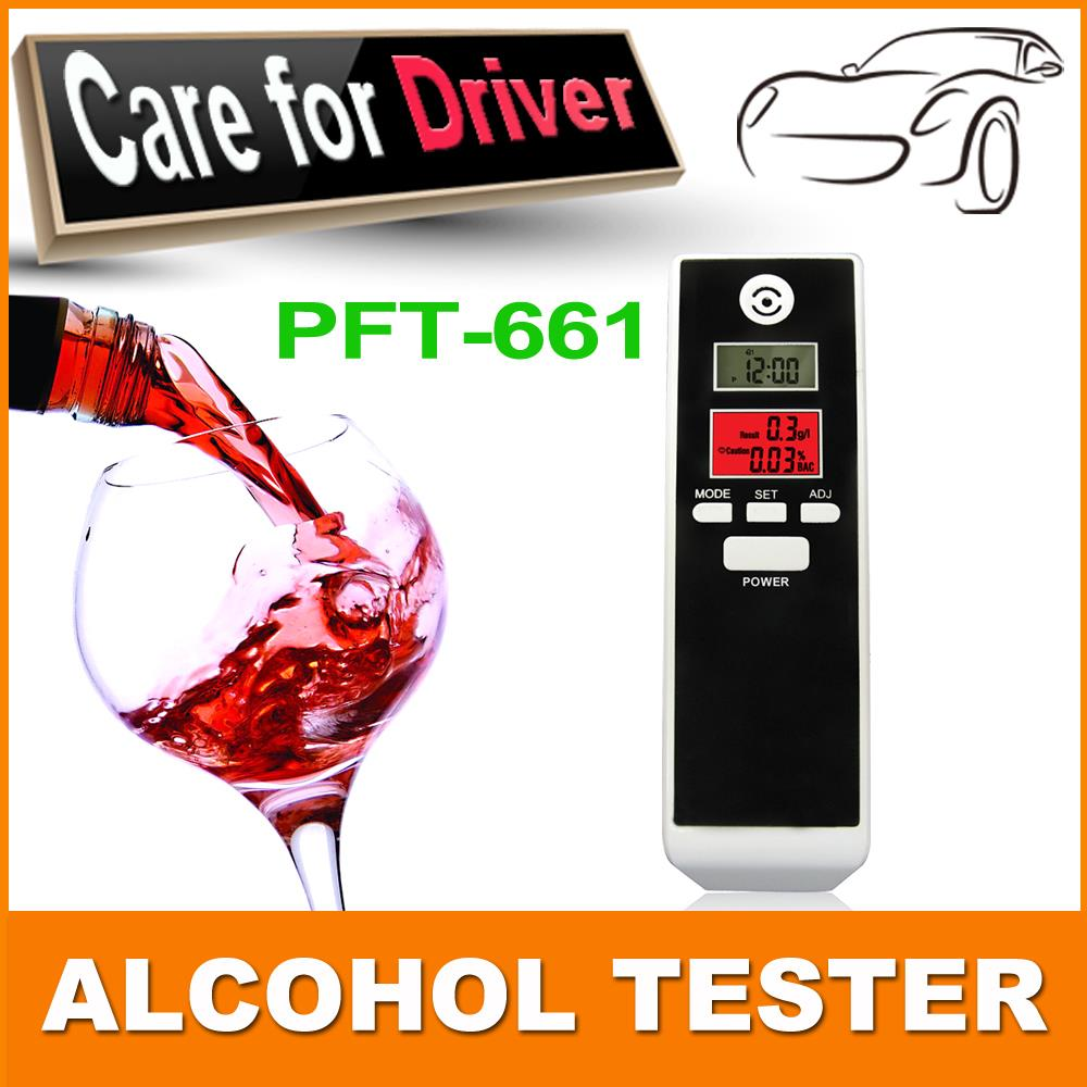 Free Shipping Police Patent Dual LCD Display Clock Digital Breath Alcohol Tester with Backlight factory suppy Drop Shipping(China (Mainland))