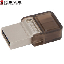 Buy Kingston USB Flash Drive 32GB 2.0 OTG Memory Flash Stick PenDrive 2in1 micro usb Pendrive Memoria usb Android smart phones for $15.24 in AliExpress store