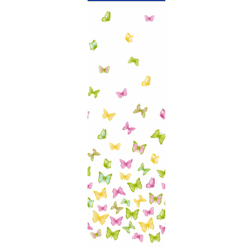 Shower Curtain Bejeweled Butterfly Shower Curtain Hooks