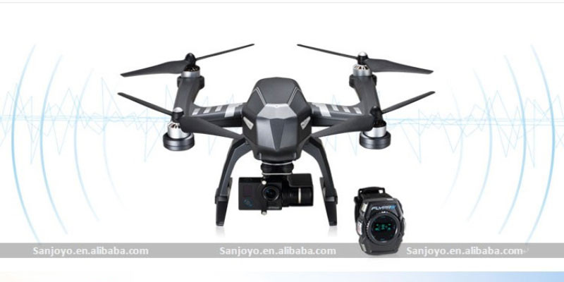 2016 Hot sale IFLYPRO XEagle FPV rc drone Sport Version with 4K HD Camera follow me Watch Aerial Photography RTFvs dji phantom 3