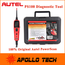 2015 New Arrivals 100% Original Autel PowerScan PS100 Electrical System Diagnostic Tool Update Online with Free Shipping(China (Mainland))