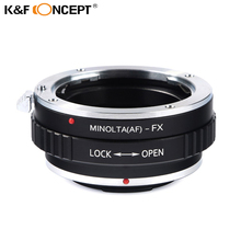 Buy K&F CONCEPT Lens Mount Adapter Sony Alpha DSLR (Minolta AF A-type) Lens Fujifilm X-Pro1 Mirrorless Camera for $22.49 in AliExpress store