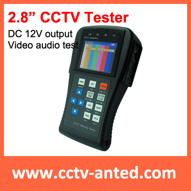 """2.8"""" Portable Tester CCTV camera test AT-CT891 with PTZ controller and Video Test(China (Mainland))"""