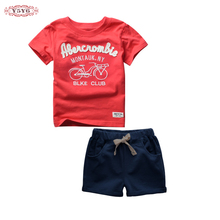 Buy 2~6T High Cotton Summer Baby Boy Kids Toddler Children Clothes Sport Suits 2pcs T Shirts+Shorts Baby Boys Clothing Sets for $15.98 in AliExpress store