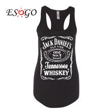 Jack Daniels Whiskey Black PREMIUM Tri-Blend Racerback Racer Back Tank Top Cute Summer Tank for Women Ladies Lady Girls