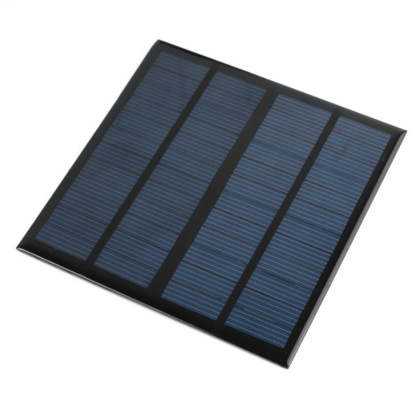 New Hot sale Solar Panel Module for Light Battery Cell Phone Charger Portable 12V 3W DIY