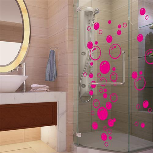Nursery kitchen bathroom Bubble wall sticker removable waterproofing home wall decal PVC wall sticker(China (Mainland))
