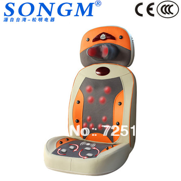 Luxury Electric Massager Shiatsu Massage Cushion