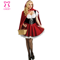 Plus Size PVC Leather Collar Zipper Front Adult Women Police Mini Dress Cosplay Cop Costume Sexy Policewomen Costumes Halloween