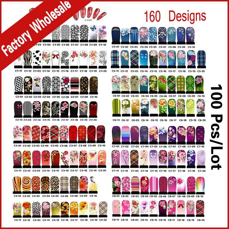 Hundreds Designs Nail Art Water Decals 100sheets DIY Flowers Cartoons Nail Accessories Nail Transfer Foils Stickers,Wholesale(China (Mainland))
