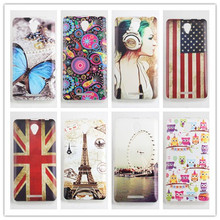 Fashion High Quality Original Painted Lenovo A5000 Cover Silicone Case Soft Cover for Lenovo A 5000 Cover Phone Shell In Stock