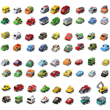 Pull Back Car Toys For Baby Children Racing Car Brinquedos Kid's Mini pull back Cars Truck Street Car 80 styles 4-6cm 36pcs/lot