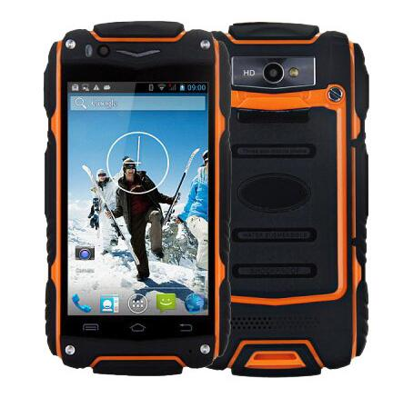 """Original Discovery V8 Waterproof MoBile Cell Phone 4.0"""" IPS MTK6572 Dual Core 512MB RAM 4GB ROM Android 4.4 Dual Sim GPS WCDMA(China (Mainland))"""