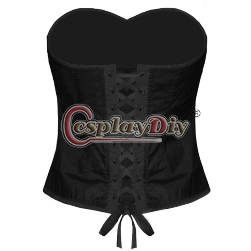 My Chemical Romance Vest Emo Goth Military Corset Adult Sexy Halloween Costume D0910(China (Mainland))