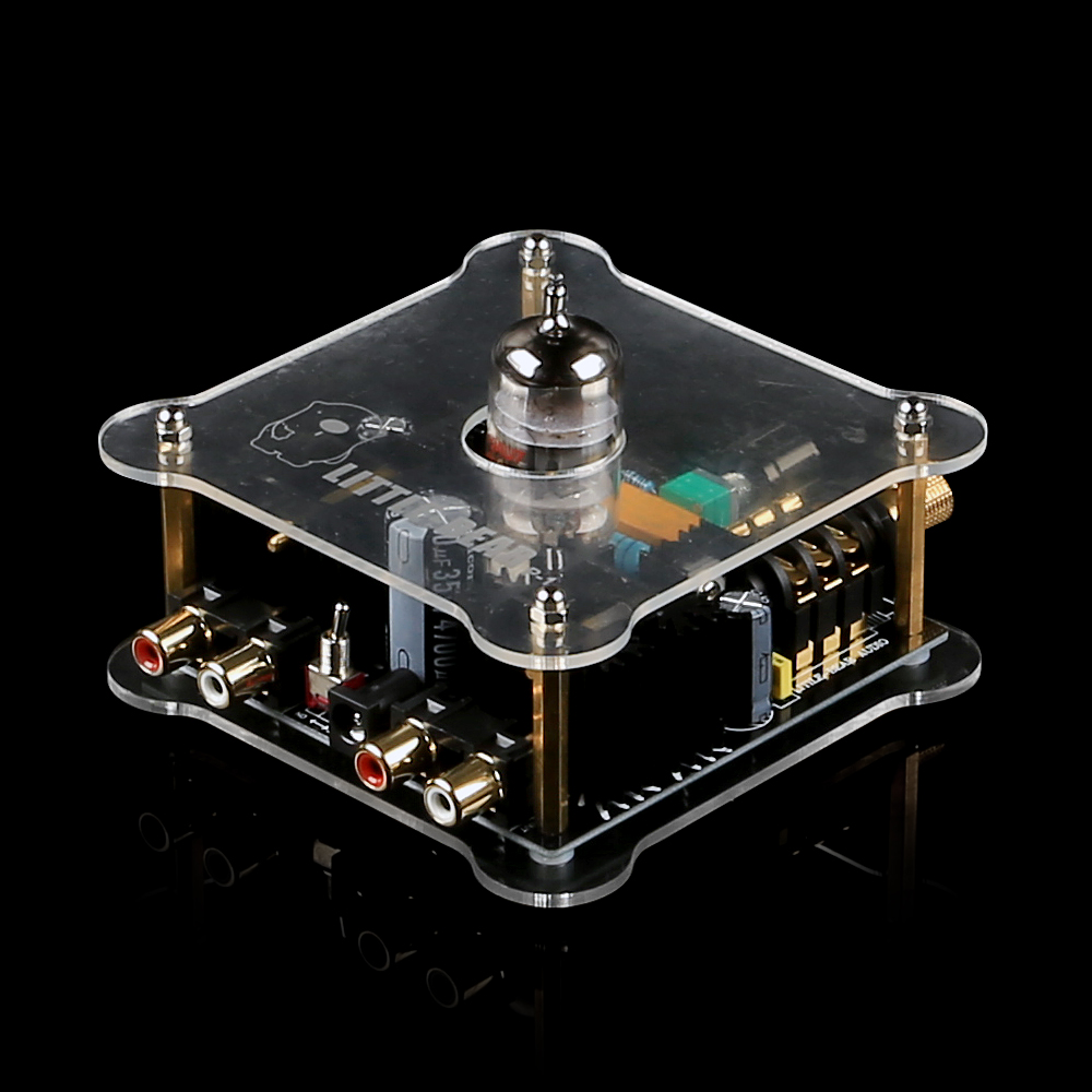 LITTLE BEAR P1-CLEAR Match 12AU7 Audio Tube Amplifier Board Headphone Class A Pre-Amp(China (Mainland))