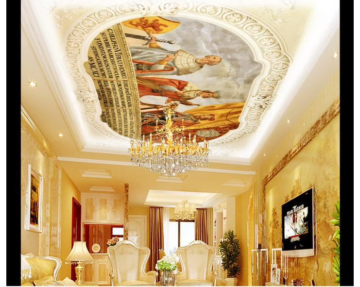 Artistic silling house design free softwere joy studio for Ceiling wallpaper